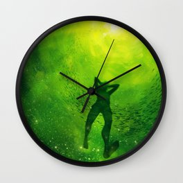 For the Gold Wall Clock