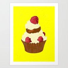 Cake, 2013. Art Print