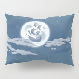 Ship in the Sky Pillow Sham