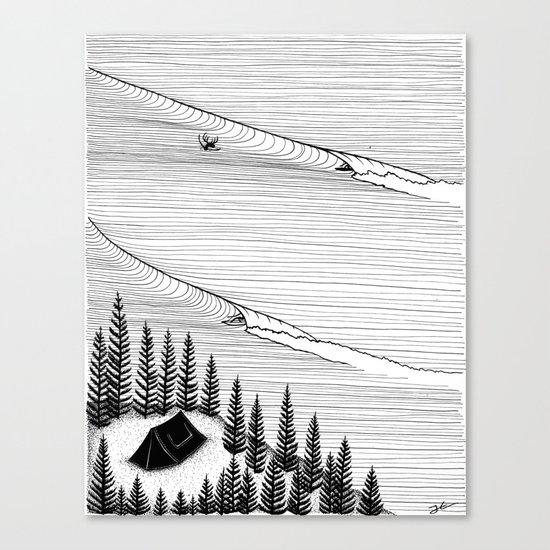 Secret Spot Canvas Print