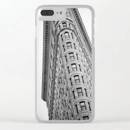 Flatiron Building Clear iPhone Case