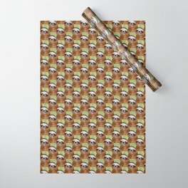 Smiling Sloth Wrapping Paper