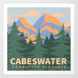 Cabeswater Art Print