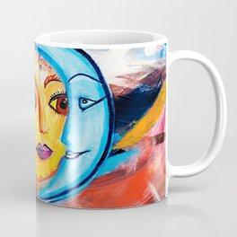 Sun and Moon United Coffee Mug