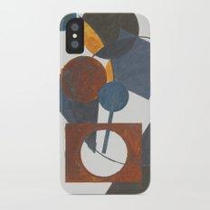 Constructivistic painting iPhone X Slim Case
