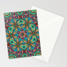 Vibrant Pattern Stationery Cards