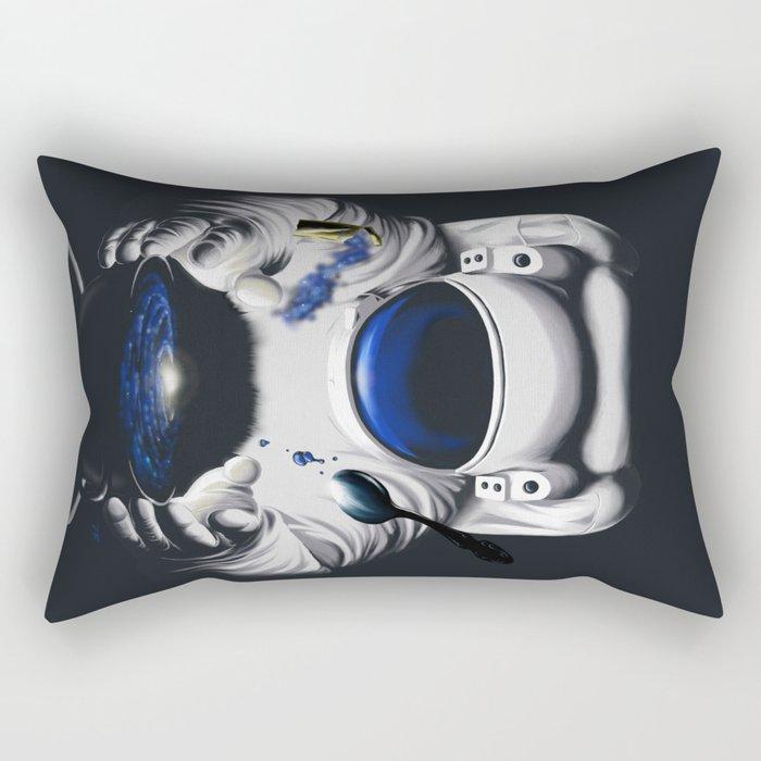 Cafe Galactica Rectangular Pillow