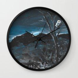 Knight Owl II Wall Clock