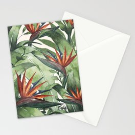 Tropical Flora I Stationery Cards