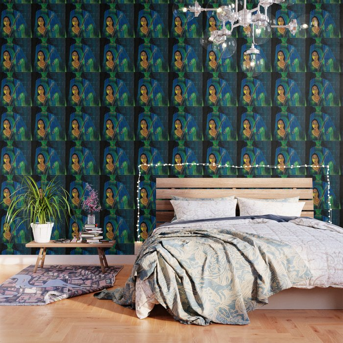 meera and krishna wallpaper