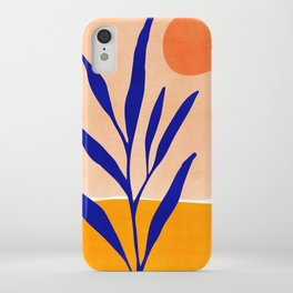 Golden Afternoon II / Abstract Landscape iPhone Case