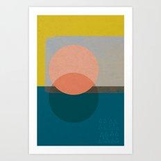 Sisi_1 abstract art Art Print