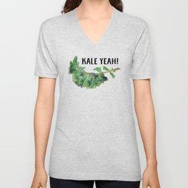 Kale Yeah! Unisex V-Neck