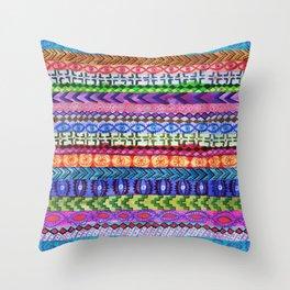 Peru Stripe II Throw Pillow