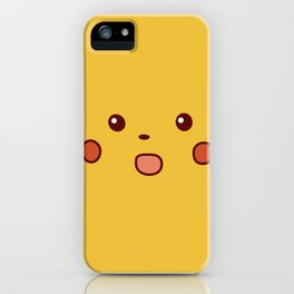 Surprised Pika iPhone Case
