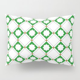 Geometric Pattern - Oriental Star Design  5 Pillow Sham