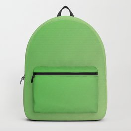 Green light color gradient colorful Backpack
