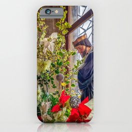 Christmas Church Display iPhone Case
