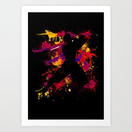 Hundred Slice Art Print
