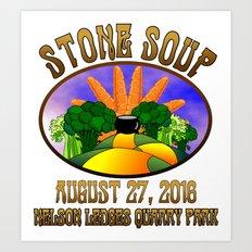 Stone Soup Art Print
