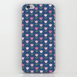 Flowery Tulipy iPhone Skin