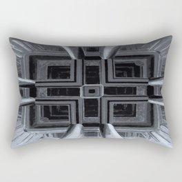 up or down - optical illusion Rectangular Pillow