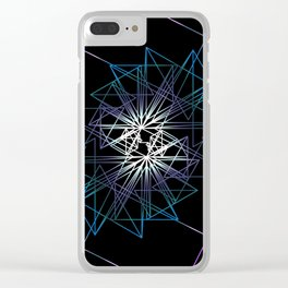 UNIVERSE 68 Clear iPhone Case