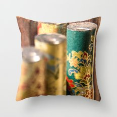 For a more formal experience Throw Pillow