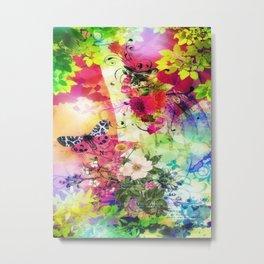 Floral Fantasy 7 Metal Print
