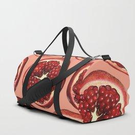 Pomegranate big coral Duffle Bag