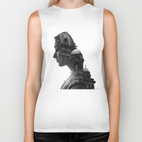 berlin Biker Tanks featuring Berlin by AnetaIvanova