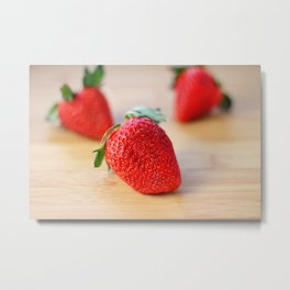 Fresh Strawberries 2018 Metal Print
