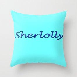 Sherlolly Throw Pillow