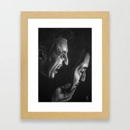 Pirandello's Mask Framed Art Print