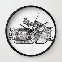 vancouver Wall Clocks featuring Vancouver by Aaron Schwartz