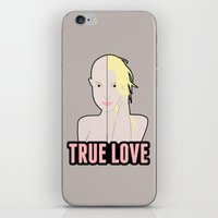 britney spears iPhone & iPod Skins featuring Britney Spears: True Love by Christopher Holden Mathews