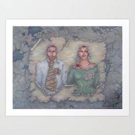 The Perfect Couple Art Print