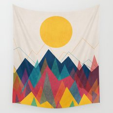Uphill Battle Wall Tapestry