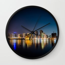 Sharjah, Emirates 01 - World Big City Wall Clock