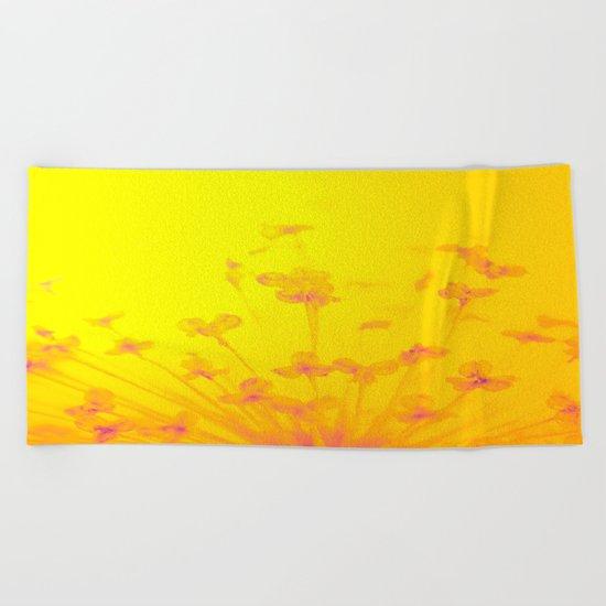 Bright Sunny Morning Beach Towel