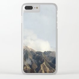 Mountain Peak Clear iPhone Case