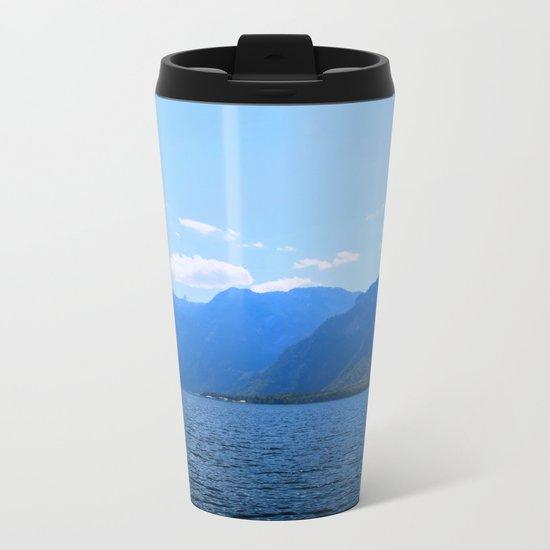 Koenigssee Lake with Alpes Mountains 2 on #Society6 Metal Travel Mug