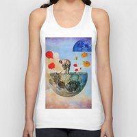 sia Tank Tops featuring The gardener of the moon by Ganech joe
