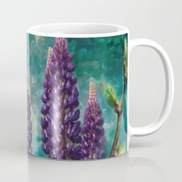 For The Love Of Lupines by annmariescreations Coffee Mug