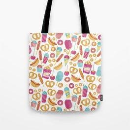 Carnival Food  Tote Bag