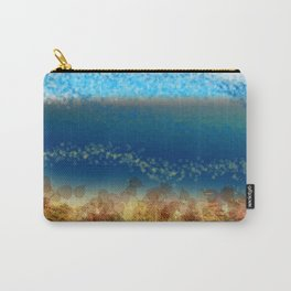 Abstract Seascape 01 w Carry-All Pouch