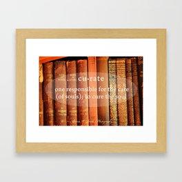 Curate Framed Art Print