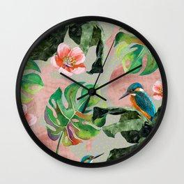 Bird Sanctuary Wall Clock
