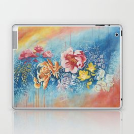 Vibrant Floral Laptop & iPad Skin