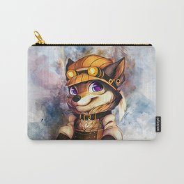 Steampunk Wolf Carry-All Pouch